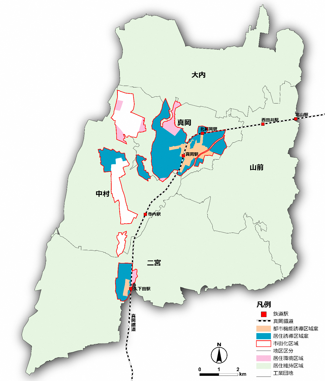立地適正化計画/真岡市公式ホームページ